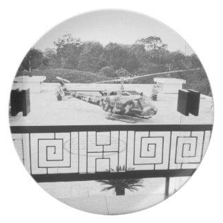 Saigon HCMC Vietnam, Huey Helicopter Plate