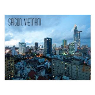 Saigon Vietnam Postcard