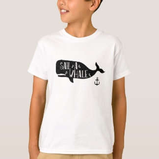 Sail a Whale Tshirt