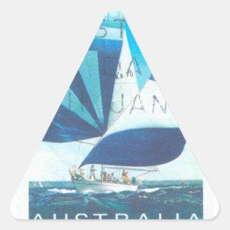 Sail Australia Triangle Sticker