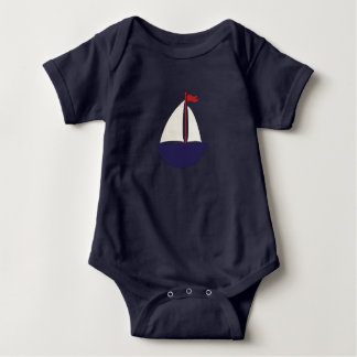 Sail Away #2 Baby Bodysuit