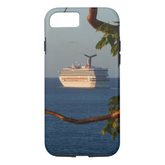 Sail Away at Sunset I Cruise Vacation Photography iPhone 7 Case