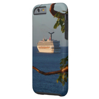 Sail Away at Sunset I Cruise Vacation Photography Tough iPhone 6 Case