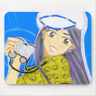 Sail Away Emiko Mouse Pad