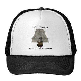 sail away hats