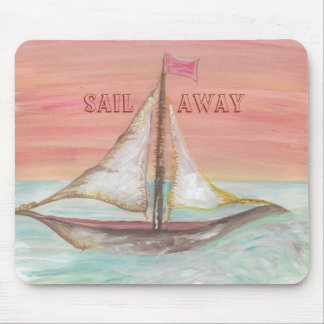 Sail Away mouse pad