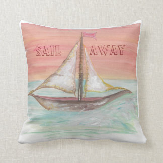 Sail away scatter cushion