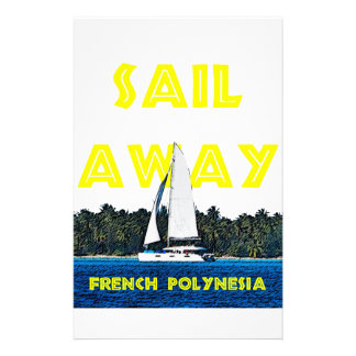 Sail Away Stationery