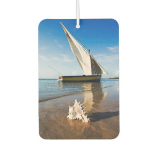 Sail Boat And Shell | Mozambique, Benguerra Lodge