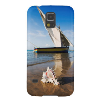 Sail Boat And Shell | Mozambique, Benguerra Lodge Galaxy S5 Cases