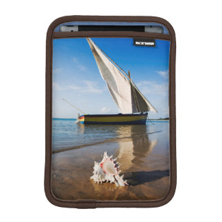 Sail Boat And Shell | Mozambique, Benguerra Lodge Sleeve For iPad Mini