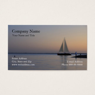 Sail Boat Business Card
