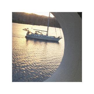 Sail Boat Canvas Print