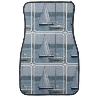 Sail Boat Car Mat