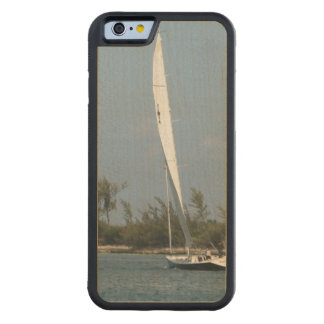 Sail Boat Carved® Maple iPhone 6 Bumper