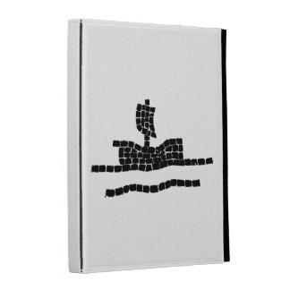 Sail boat iPad folio cover