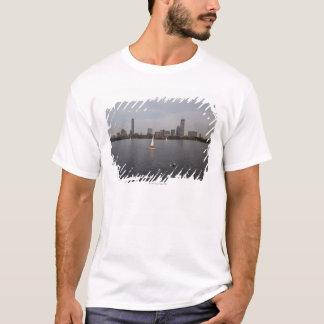 Sail Boat, Charles River, Boston, MA T-Shirt