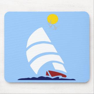 Sail Boat Mouse Pad
