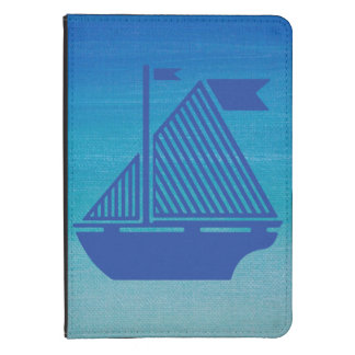 Sail Boat on the Ocean Kindle Case