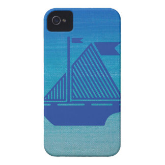 Sail Boat on the Ocean iPhone 4 Case