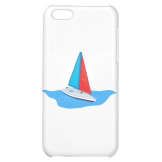 Sail boat on the water case for iPhone 5C