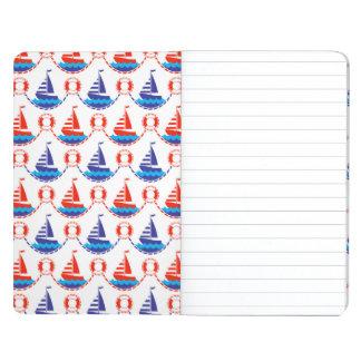 Sail Boat Pattern Journals