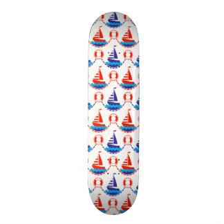 Sail Boat Pattern Skateboards