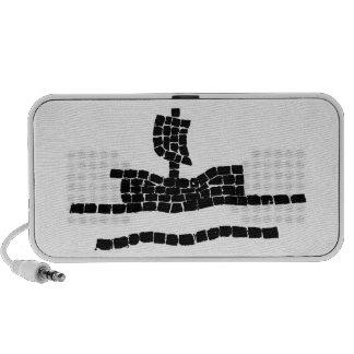 Sail boat iPod speakers