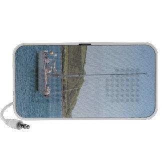Sail boat travel speaker