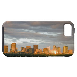 Sail boating on The Charles River at sunset iPhone 5 Case