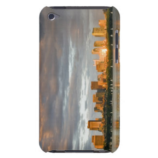 Sail boating on The Charles River at sunset iPod Case-Mate Case