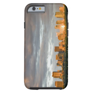Sail boating on The Charles River at sunset Tough iPhone 6 Case