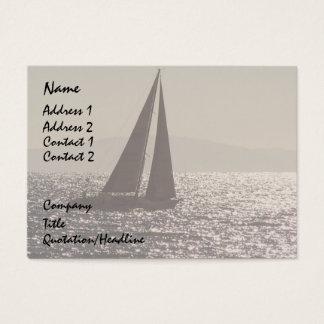 Sail Boats Business Card