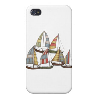 Sail Boats Case For iPhone 4