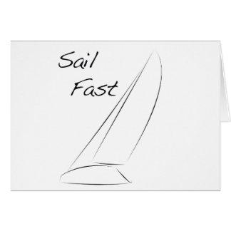 Sail Fast Card