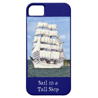 Sail in a tall ship iPhone 5 case