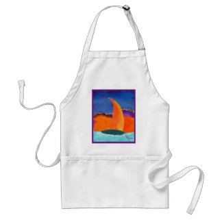 Sail in the Sunset Standard Apron