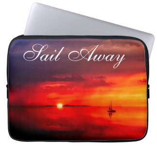 Sail into the Sunset Laptop Sleeve