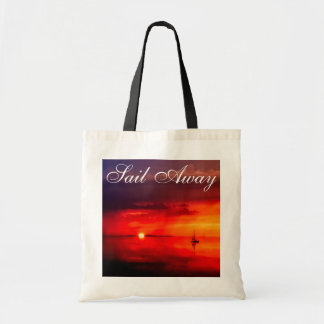 Sail into the Sunset Tote Bag