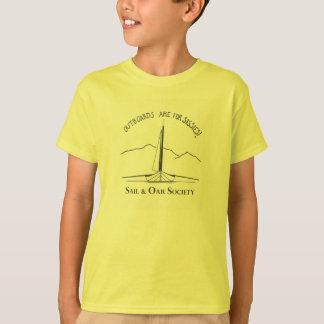 Sail & Oar t-shirt for kids