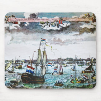 Sail Old Amsterdam Picture Mousepad