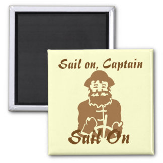 Sail on square magnet