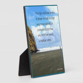 Sail out - plaque