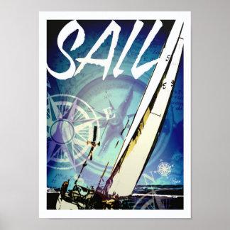 Sail poster art