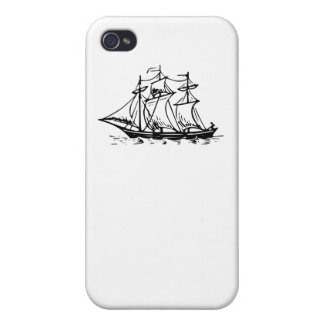 Sail Ship iPhone 4/4S Cases