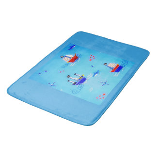 Sail The Sea Bath Mat