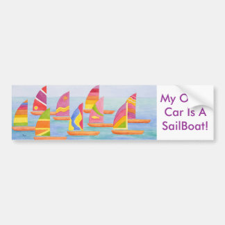 Sailabration Bumper Sticker