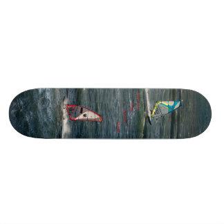 Sailboarders on Skateboard