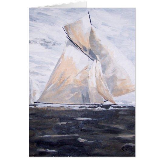 Sailboat #2 card