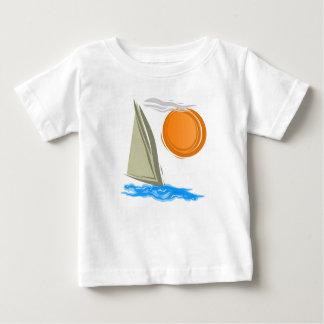 Sailboat and Sun Baby T-Shirt